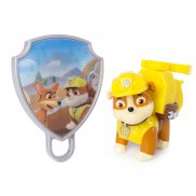 Psi Patrol - Figurka akcji z animowaną odznaką Rubble 20093668