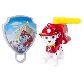 Psi Patrol - Figurka akcji z animowaną odznaką Marshall 20093667