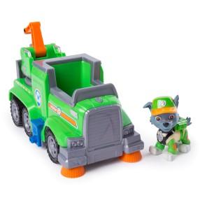 Psi Patrol - Ultimate Rescue Pojazd Ciężarówka do Recyklingu z figurką Rocky 20101537