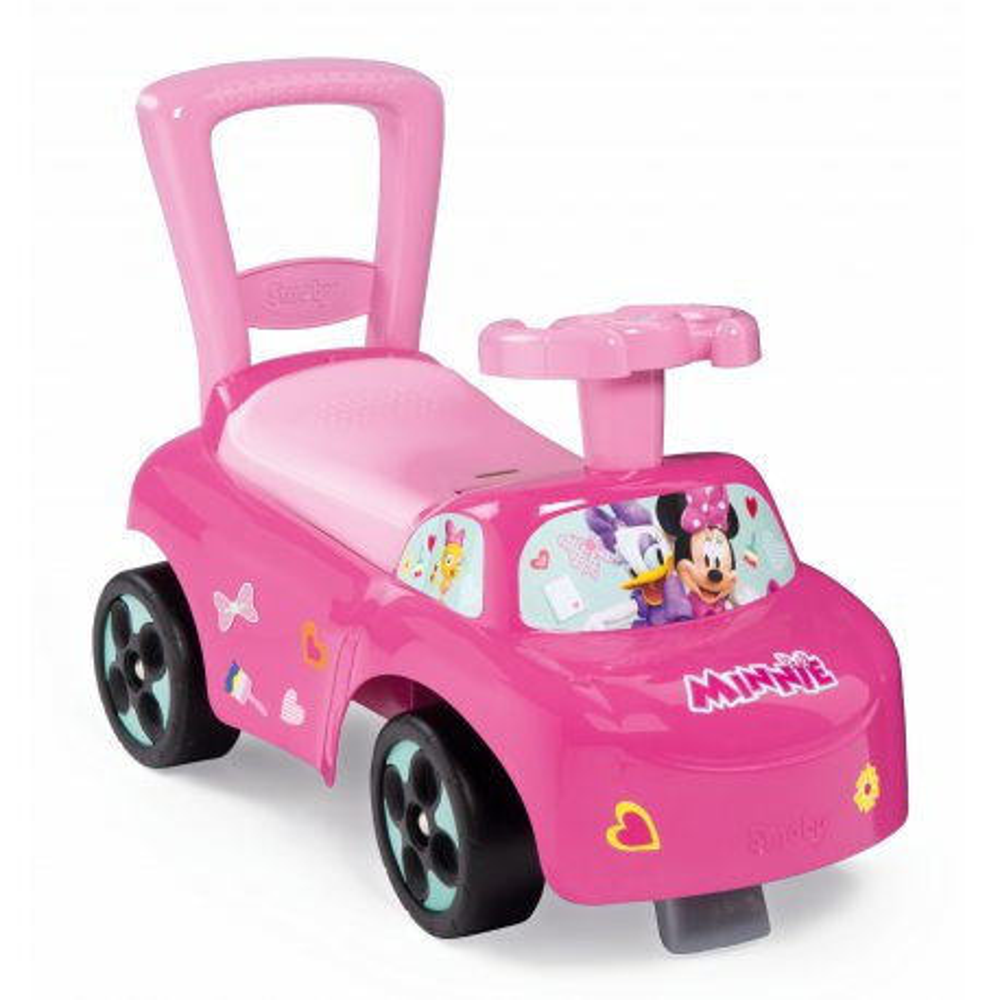 Smoby - Jeździk Auto Myszka Minnie Różowy 720522