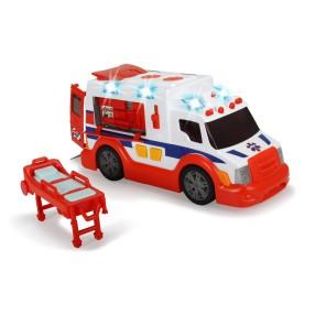 Dickie - Ambulans ze światłem i dźwiękiem 3308360