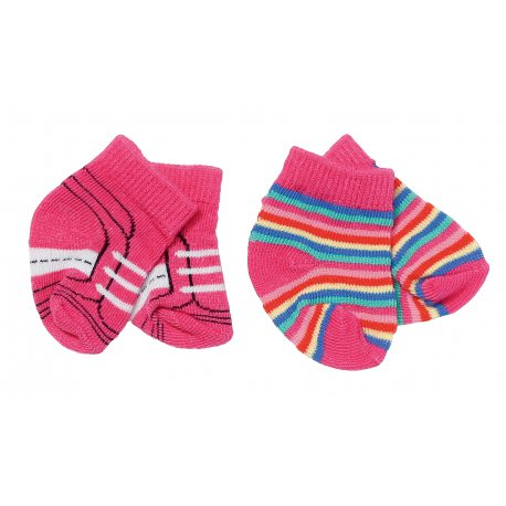 BABY born - Skarpetki dla lalki 2-pak Różowe 827017 A