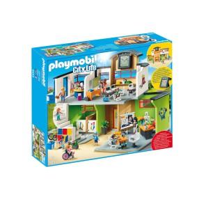 Playmobil - Szkoła z wyposażeniem 9453