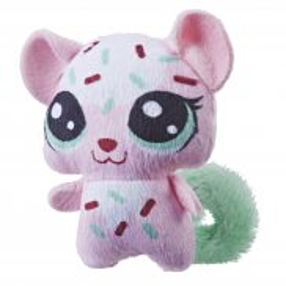 Littlest Pet Shop - Pluszowe zwierzaki Soczki Leopard E3464