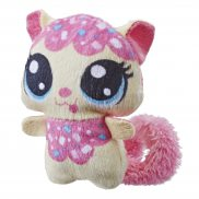 Littlest Pet Shop - Pluszowe zwierzaki Soczki Kotek E3466
