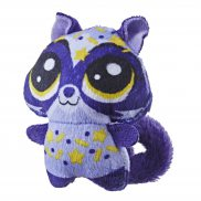 Littlest Pet Shop - Pluszowe zwierzaki Soczki Szop Pracz E3467