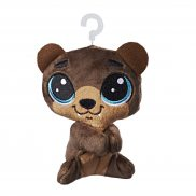 Littlest Pet Shop - Pluszowe przypinki Hoffman Beary E0344