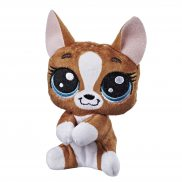 Littlest Pet Shop - Pluszowe przypinki Roxie McTerrier E1943