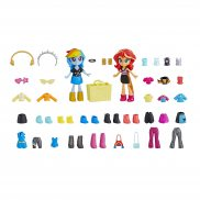 My Little Pony Equestria Girls Minis - Modne najlepsze przyjaciółki Sunset Shimmer i Rainbow Dash E4244