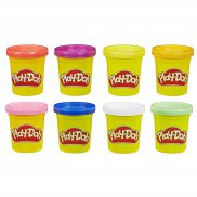 Play-Doh - Ciastolina Tuby 8 Pak tęczowych kolorów E5062