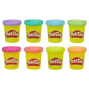 Play-Doh - Ciastolina Tuby 8 Pak neonowych kolorów E5063