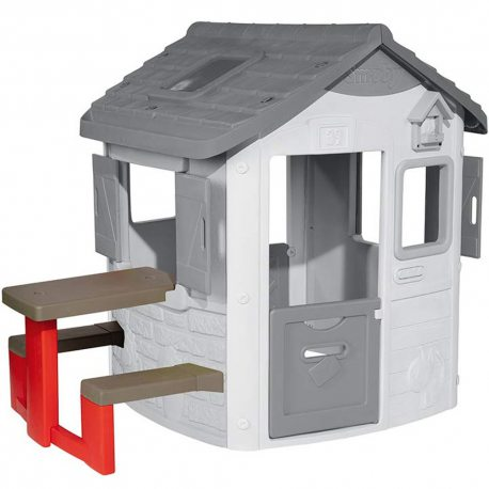 Smoby - Stolik piknikowy Akcesoria do domku Neo Jura Powłoka UV 810902