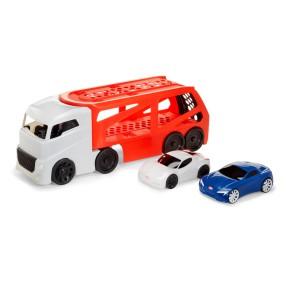 Little Tikes - Duża Ciężarówka Laweta z 2 samochodami 646669