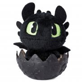 Spin Master Dragons - Mały Pluszowy Smok w jajku Szczerbatek 20103558