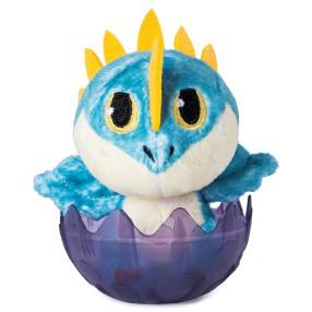 Spin Master Dragons - Mały Pluszowy Smok w jajku Wichura 20115451
