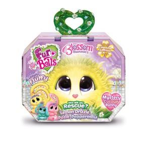 Fur Balls - Blossom Bunnies Maskotka Królik niespodzianka FUR635B