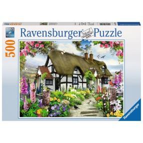 Ravensburger - Puzzle Angielska Wieś 500 elem. 147090