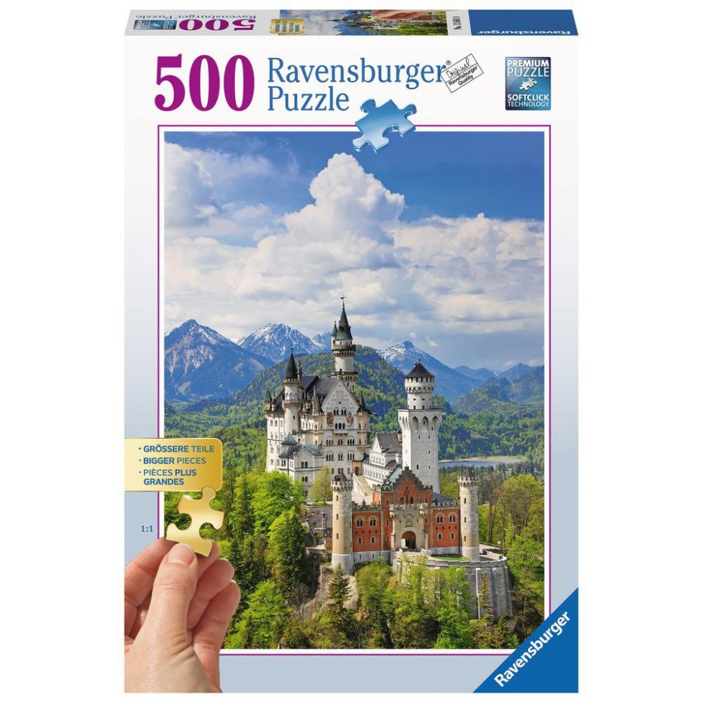 Ravensburger - Puzzle Bajeczny Zamek Neuschwanstein 500 elem. 136810