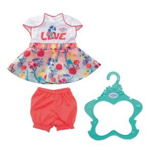 BABY born - Ubranko Sukienka Trand Baby dla lalki 826973 B
