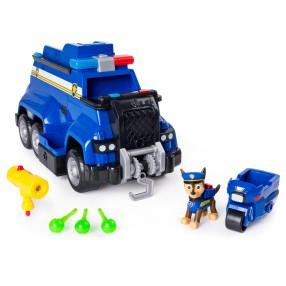 Psi Patrol - Ultimate Rescue Duży Radiowóz ratunkowy Chase'a z figurką Dźwięk i Światło 20107462