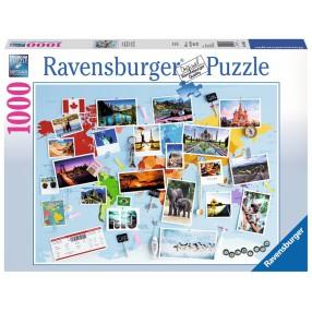 Ravensburger - Puzzle Podróż dookoła świata 1000 el. 196432