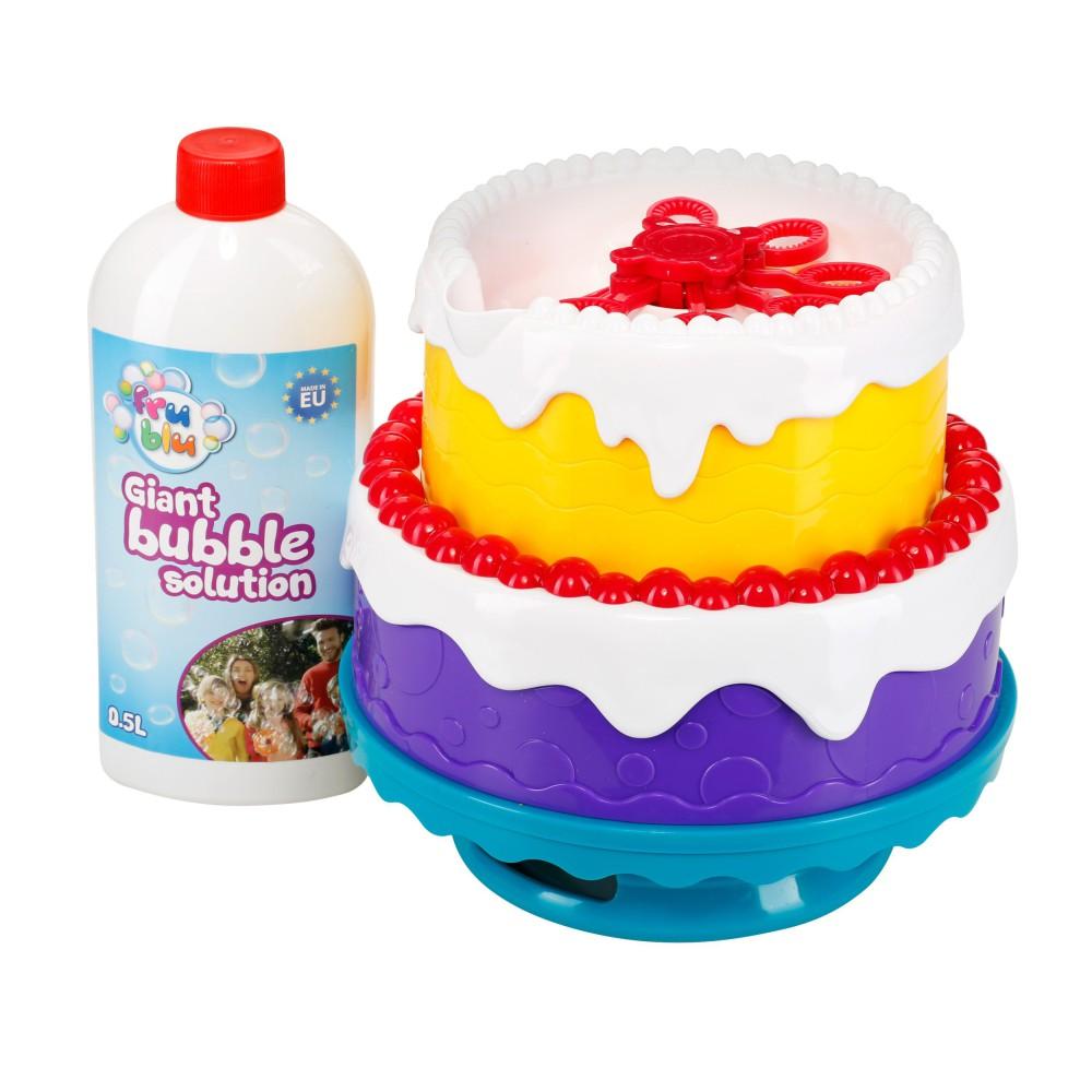 Fru Blu Bańki - Zestaw bańkowy tort + płyn 500ml DKF8204