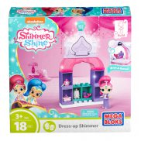 Mega Bloks Shimmer i Shine - Magiczna Garderoba Shimmer 18 elem. FBK01