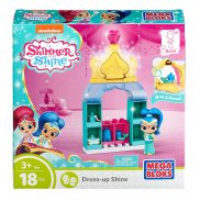 Mega Bloks Shimmer i Shine - Magiczna Garderoba Shine 18 elem. FBK002
