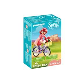 Playmobil - Maricela z rowerem 70124
