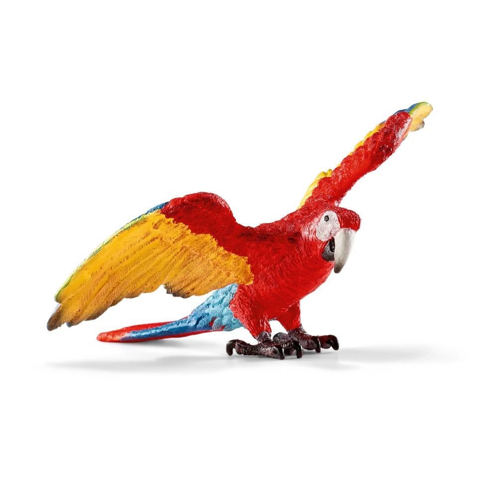 Schleich - Papuga Ara czerwono-żółta 14737