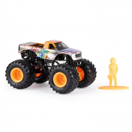 Spin Master Monster Jam - Superterenówka Hurricane Force w skali 1:64 20105558