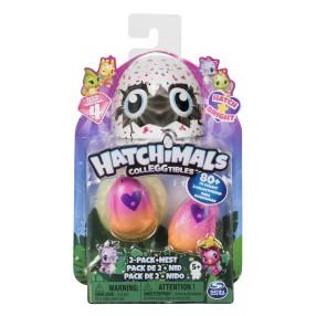 Spin Master Hatchimals - Jajko niespodzianka 2-pak z gniazdem Seria 4 6043953