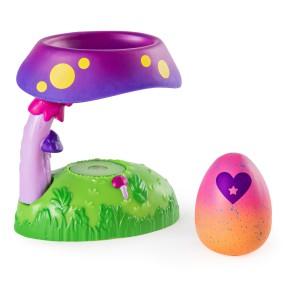 Spin Master Hatchimals - Domek leśny Fabula Forest Świecące Gniazdo + Jajko niespodzianka Seria 4 6044122