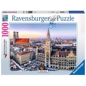 Ravensburger - Puzzle Monachium 1000 elem. 194261