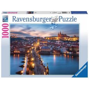 Ravensburger - Puzzle Praga nocą 1000 elem. 197408