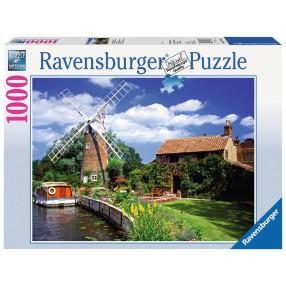 Ravensburger - Puzzle Wiatraki 1000 elem. 157860