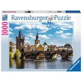 Ravensburger - Puzzle Widok na Most Karola 1000 elem. 197422