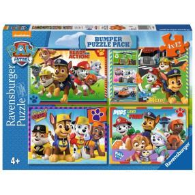 Ravensburger - Puzzle Psi Patrol 4 x 42 elem. 069644