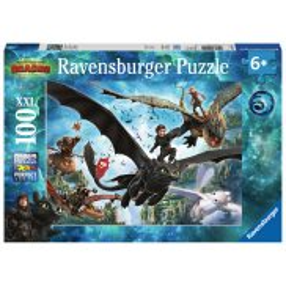 Ravensburger - Puzzle XXL Jak Wytresować Smoka 3 100 elem. 109555