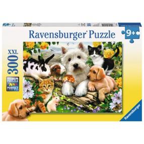 Ravensburger - Puzzle XXL Szczęśliwe zwierzęta 300 elem. 131600