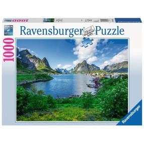 Ravensburger - Puzzle Lofoty, Norwegia 1000 elem. 197118