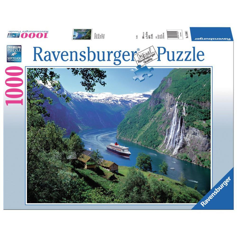 Ravensburger - Puzzle Widok na Grainau 1000 elem. 158041