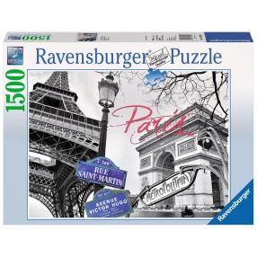 Ravensburger - Puzzle Paryż, Moja Miłość 1500 elem. 162963
