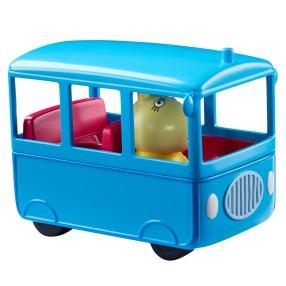 TM Toys Świnka Peppa - Szkolny Autobus z figurką Pani Królik 06576