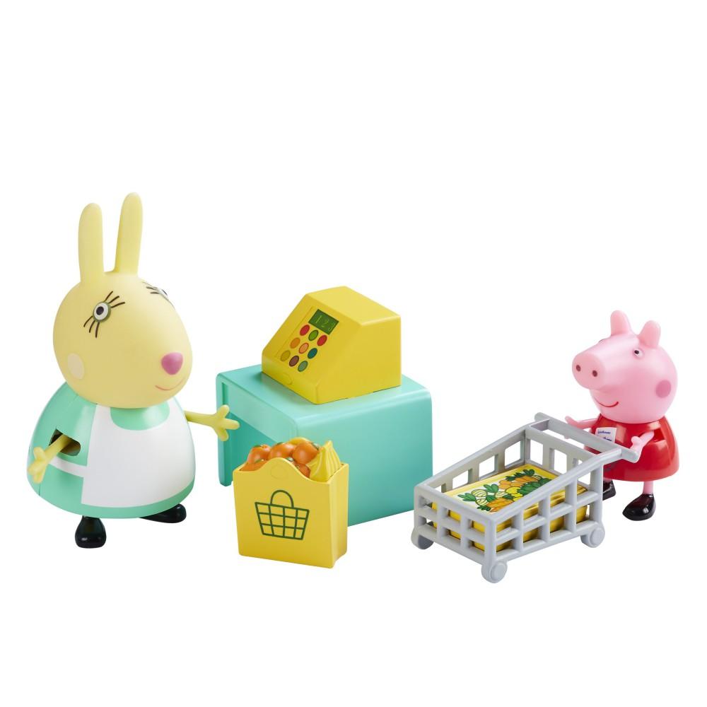 TM Toys Świnka Peppa - Zestaw Peppa na zakupach 06952