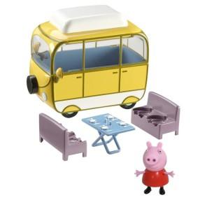 TM Toys Świnka Peppa - Kamper Peppy z figurką Seria 2 06060