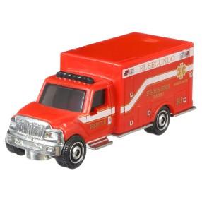 Matchbox - Samochód MBX Rescue International Terrastar GCD95