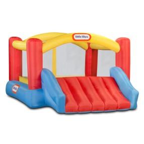 Little Tikes - Dmuchany Plac zabaw ze zjeżdżalnią Trampolina Jump'n Slide 173370