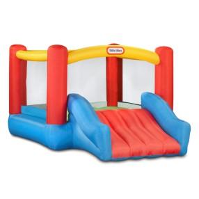 Little Tikes - Dmuchany Plac zabaw ze zjeżdżalnią Trampolina Jump'n Slide Junior 173387