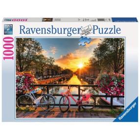 Ravensburger - Puzzle Rowery w Amsterdamie 1000 elem. 196067